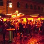 stand auf dem lucia weihnachtsmarkt in berlin