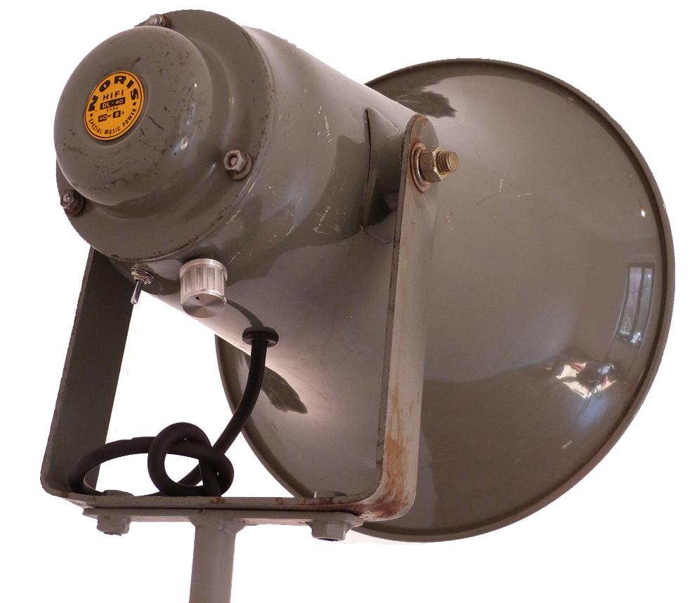 megafon leuchte für helles licht