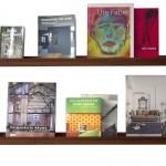 Bücherbord Mahagoni für belletristik
