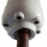 glasierte keramikfassung e40 500w