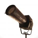 narva theater scheinwerfer mit konserviertem rost