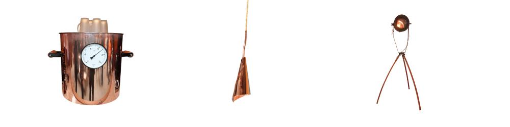 Kupfer, ein interessantes Material für viele Gestaltungen