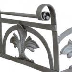 Gründerzeit Balkongitter Regal mit reicher Ornamentik