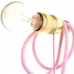 rosa Mädchenlampe
