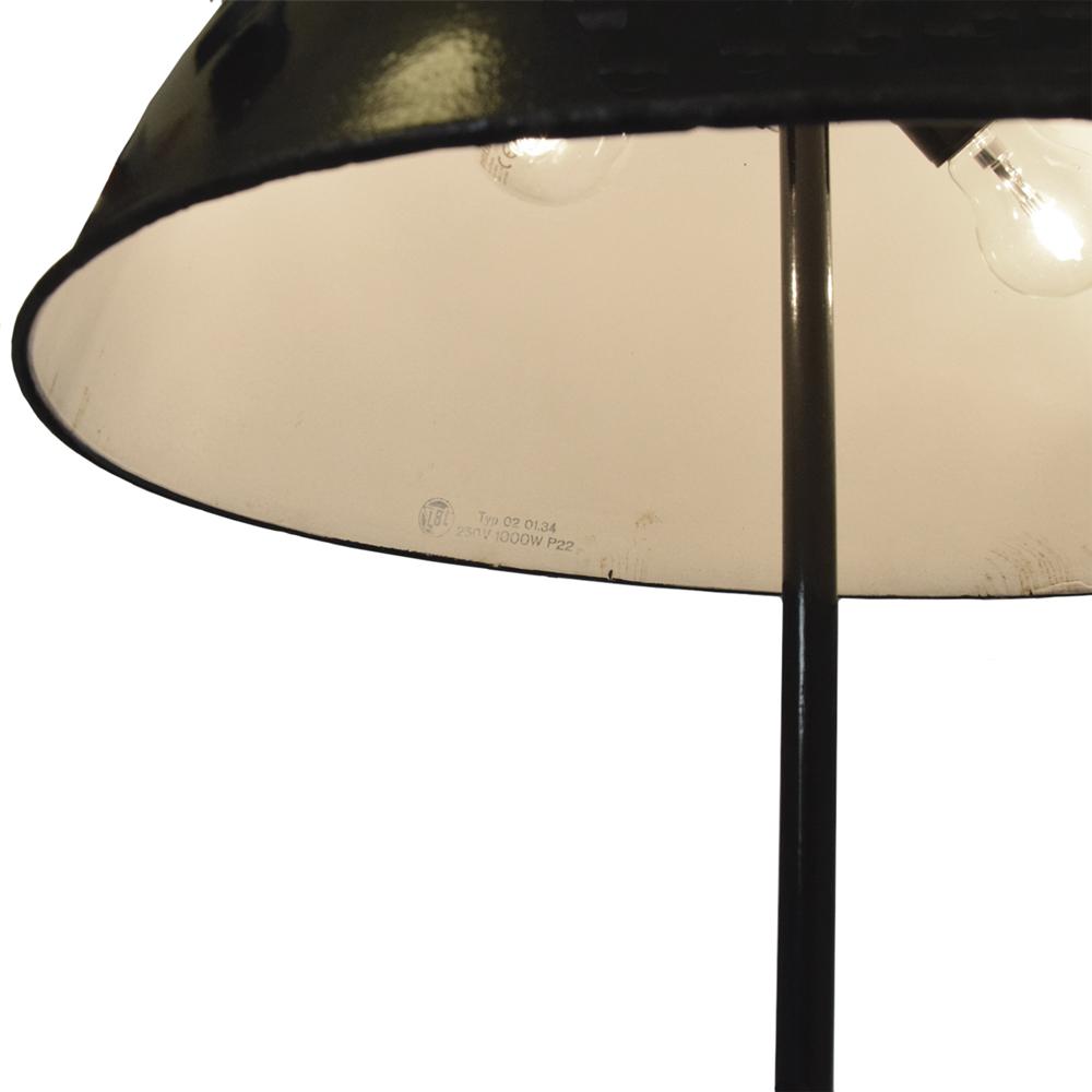 Lampenglocke aus Emaille