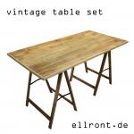 Vintage Tisch Holz