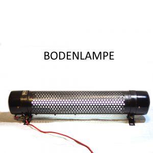 Bodenlampe aus Metall Industriedesign