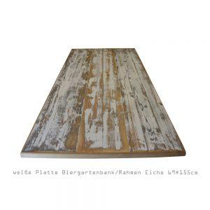 Tischplatte vintage Design weiß