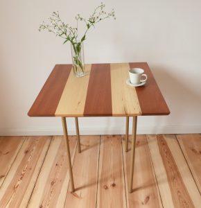 Kaffehaustisch aus Mahagoni