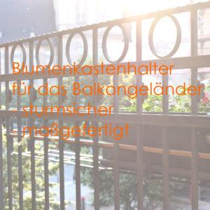 Blumenkastenhalter Altbau Berlin