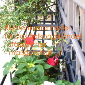 Balkonkastenhalter Fabrik Berlin